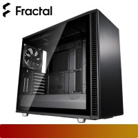 Fractal Design - Define S2 Tempered Glass Blackout