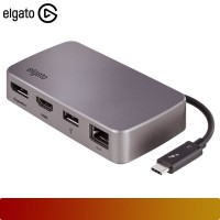 ELGATO - THUNDERBOLT 3 MINI DOCK / High-performance connectivity