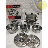 PANCI SET TUTUP KACA 5pcs | HC HIGH POT SERIES 5pcs