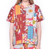 Promo..!! Mosiru Piyama Wanita Setelan Baju Tidur Pajamas Cp 101C -