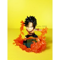 Action Figure One Piece Portgas D Ace WCF Burst 1 ORI