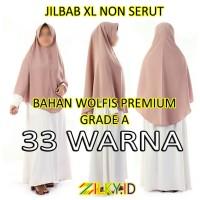 Hijab Jilbab Wolfis XL Instan Instant Jumbo Besar SMA Remaja Dewasa
