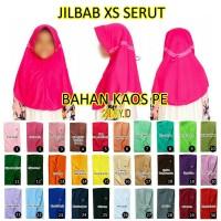 Hijab Jilbab Instan XS Kaos Tali Serut Instant Anak Kecil TK SD Balita