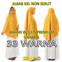 Hijab Jilbab Wolfis XXL Instan Instant Jumbo Besar SMA Remaja Dewasa