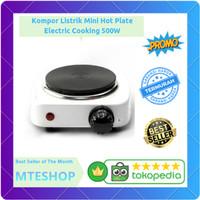 Kompor Listrik Mini Hot Plate Electric Cooking 500W