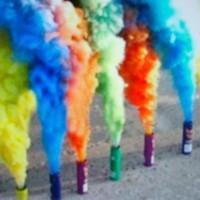 smoke bomb/pipa asap 5 warna Termurah