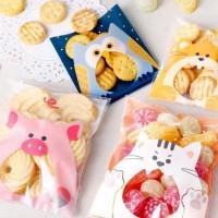 Plastik OPP Sealing Tape cetakan kue Papermilk packing accessories