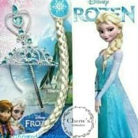 Set Mahkota Frozen 3in1/Mahkota Anak Cewe / Princess Frozen Crown Set