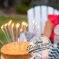 lilin sparkling / lilin ulang tahun / lilin kembang api Termurah