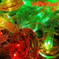 Aksesoris Lampu Natal Model Tabung Air 1 Sett = 10 pcs Termurah