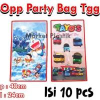 Plastik Ulang Tahun/Plastik Bingkisan Ultah/OPP Party Bag Tanggung