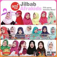 Afrakids - Kerudung / Jilbab Anak Instan Premium - Size S,M,L,XL
