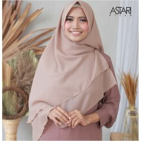 KHIMAR CAMILA DOUBLE LAYER BAHAN DOUBLE HYCON / JILBAB KHIMAR 2 LAYER