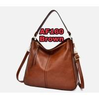 Tas wanita import set tas bahu tas selempang kulit PU tas tote bag 160