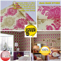 Wallpaper Dinding Motif 45cm x 10m - Wallpaper Dinding CY1004