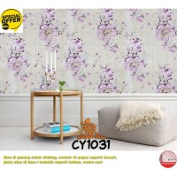 Wallpaper Dinding Motif 45cm x 10m - Wallpaper Dinding CY1031