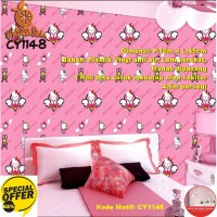 Wallpaper Dinding Motif 45cm x 10m - Wallpaper Dinding CY1148
