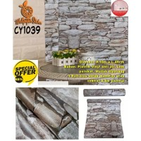 Wallpaper Dinding Motif 45cm x 10m - Wallpaper Dinding CY1039