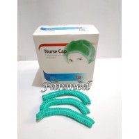 Tutup Kepala Perawat Nurse Nurse Cp Cape Green Hijau-