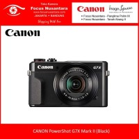 CANON PowerShot G7X Mark II (Black)