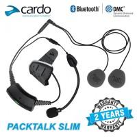 Intercom Cardo Packtalk Slim JBL Bluetooth Helmet Heatset Helm Wireles