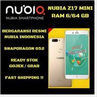 ZTE Nubia Z17 Mini RAM 6 ROM 64 Garansi Resmi indonesia sparepart