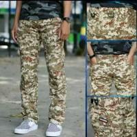 celana panjang tactikal pria/celana pria tactikal warna army