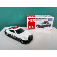 Tomica No 61 Nissan Fairlady Z Nismo Police Car Diecast Miniatur mobil