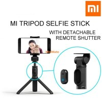 Tongsis Xiaomi Selfie Stick Tripod Bluetooth Remote Original