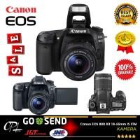 Canon EOS 80D Kit 18-55mm IS STM - Kamera DSLR Garansi 1 tahun