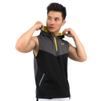 FLEXZONE Jaket - Abu - for Gym Running Jogging Sport FJS-007AH
