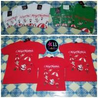 Baju Natal Keluarga 2271 Merry Christmas - Kaos Pasangan Family