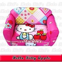 Custom Order Sofa Anak Hello Kitty Apel Cliffton ke Jakarta
