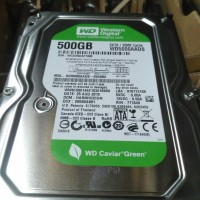 hdd/hardisk 3,5 internal 500gb wd green pc & cctv