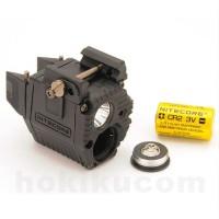 Senter Red Laser Tactical Flashlight NITECORE NPL10
