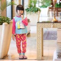 Piyama Anak Setelan Perempuan Dessan Happy Life