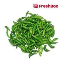 Freshbox Cabai Rawit Hijau Petik 250gr