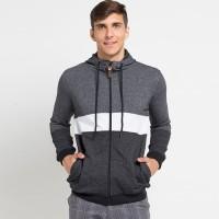Cressida Block Panel Hoodie Jacket K309