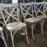 Kursi besi vintage tolix Industrial chair cafe