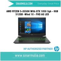 HP PAV GAMING AMD Ryzen 5 3550H - RAM 8 GB DDR4 - GTX 1050 3 GB