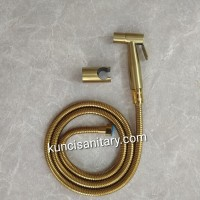Shower toilet bidet Jet washer stainless 304 gold emas