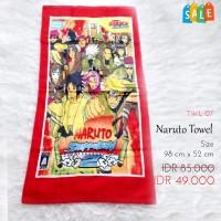 Handuk Anak Gambar Naruto SALE