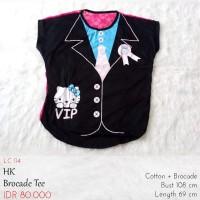 Kaos Wanita - HK Brocade Tee