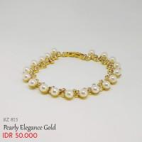 Gelang Pearly Elegance Gold