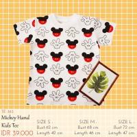 Kaos Anak Perempuan - Mickey Hand Kids Tee