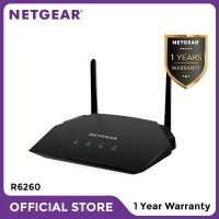 Netgear R6260 AC1600 Smart WiFi Router Dual Band Gigabit Garansi 1 Thn