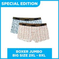 SPECIAL EDITION Celana Dalam Boxer Printing Pria Bigsize Jumbo 2XL-8XL