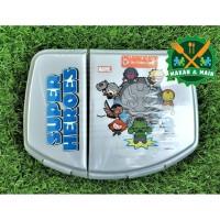 SWD 100 HCDM Click & Double Lock Kotak Makan Lunch Box Technoplast