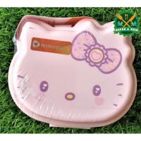 SW 006 HKFR Hello Kitty Fancy Kotak Makan Lunch Box Technoplast Value