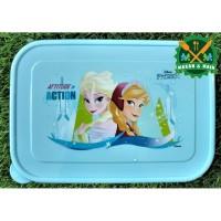 SW107 DFB2 Best Of Disney Frozen Kotak Makan Lunch Box Technoplast